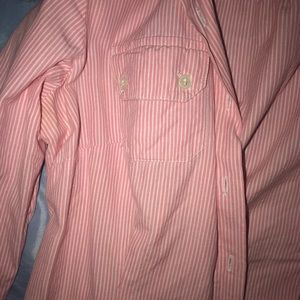Tops - Miss Magesty Pink & White Striped Button Down Top